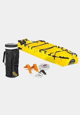 Spencer Total Recovery stretcher supplied with rope straps lifting bridles & case