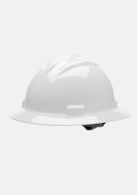 Bullard 4 Point Ratchet Suspension Full Brim Helmet