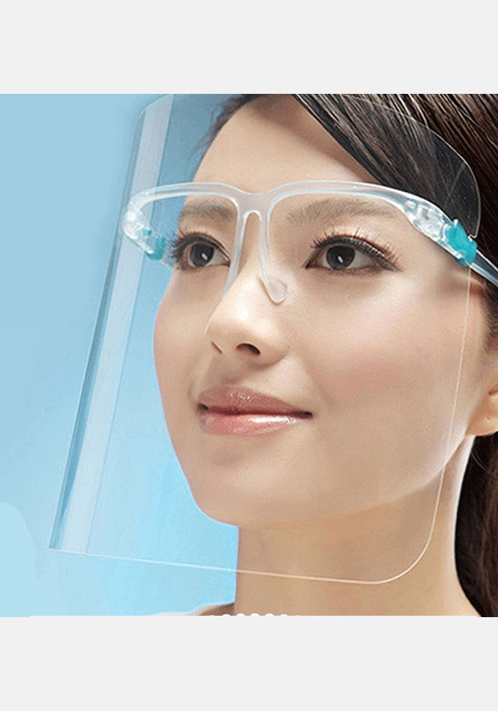Face Shield Glass Frame Style