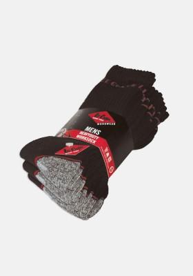 Lee Cooper Heavy Duty Work Socks - 5 pairs pack