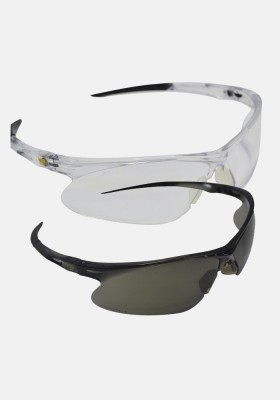 Safety Plus Premium Spectacles Grey and Clear