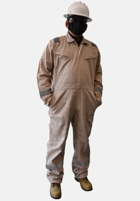 Safety Plus World Platinum Cotton Coveralls